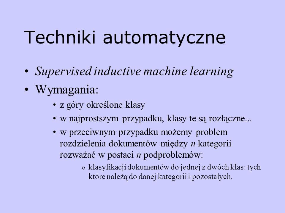 Techniki automatyczne