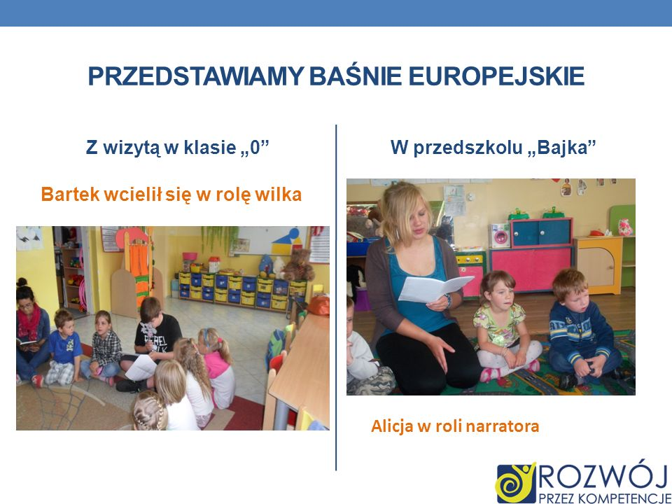 Przedstawiamy baśnie europejskie