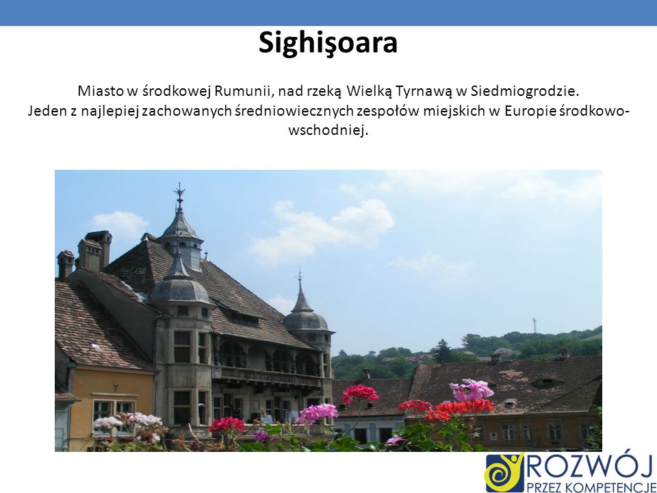 Miasto w środkowej Rumunii, nad rzeką Wielką Tyrnawą w Siedmiogrodzie.