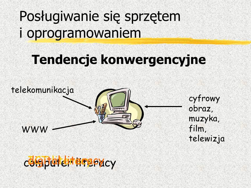 Posługiwanie się sprzętem i oprogramowaniem