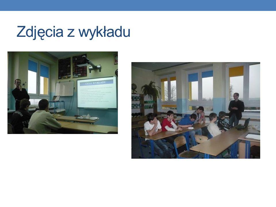 Zdjęcia z wykładu