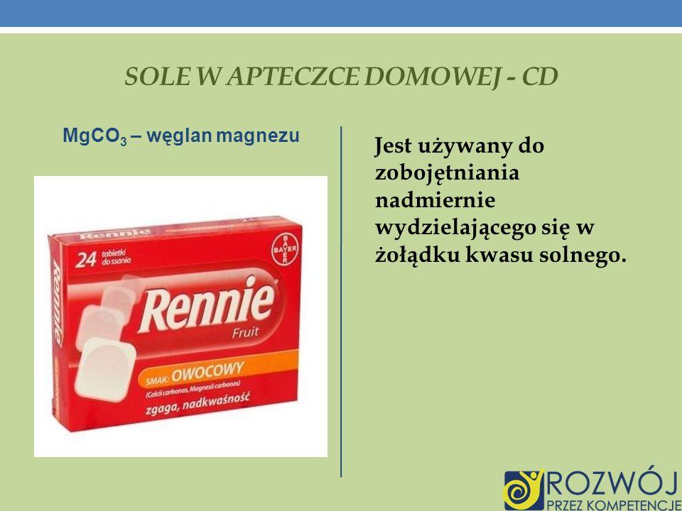 SOLE W APTECZCE DOMOWEJ - CD