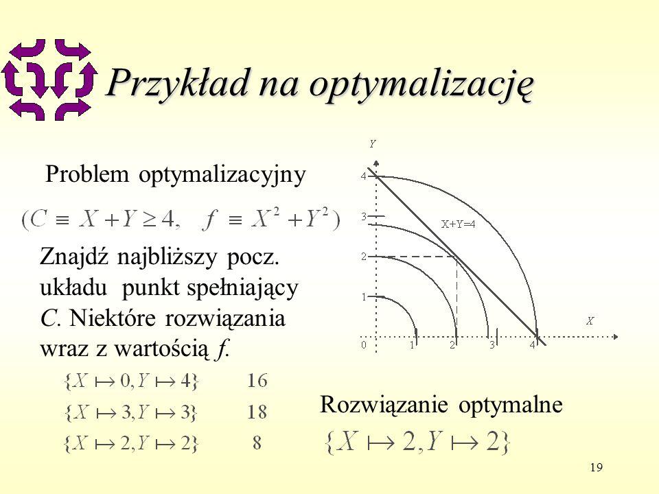 Przykład na optymalizację