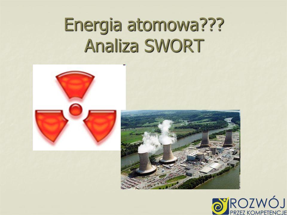 Energia atomowa Analiza SWORT