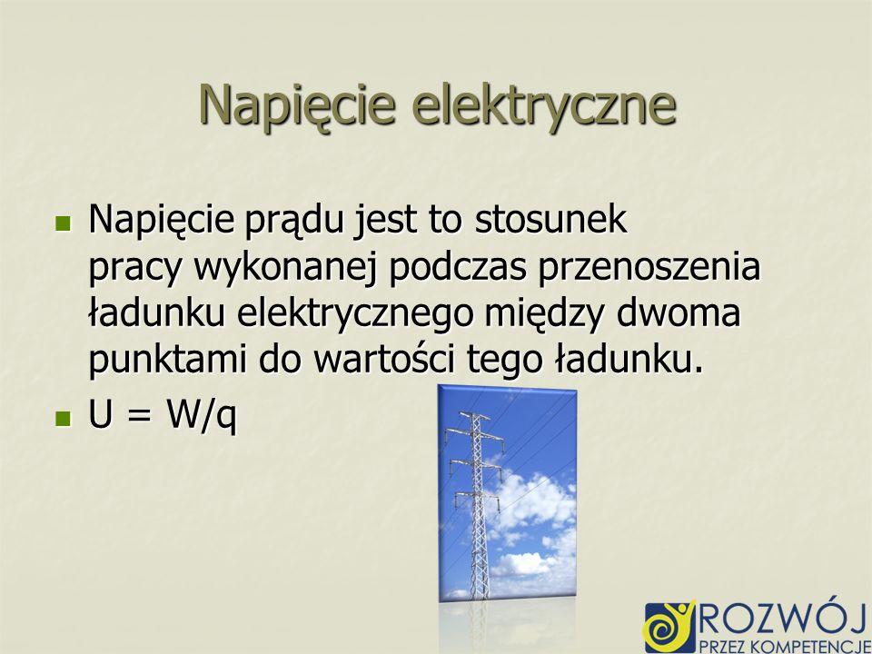 Napięcie elektryczne
