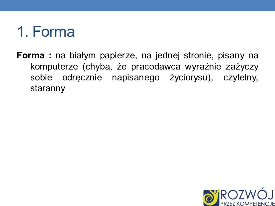 1. Forma