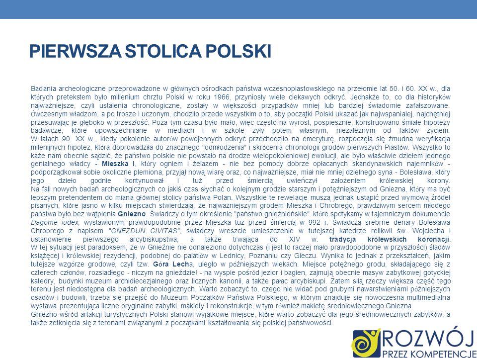Pierwsza stolica polski