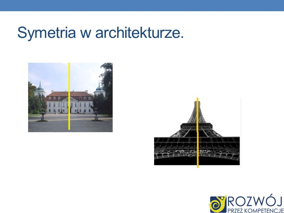 Symetria w architekturze.