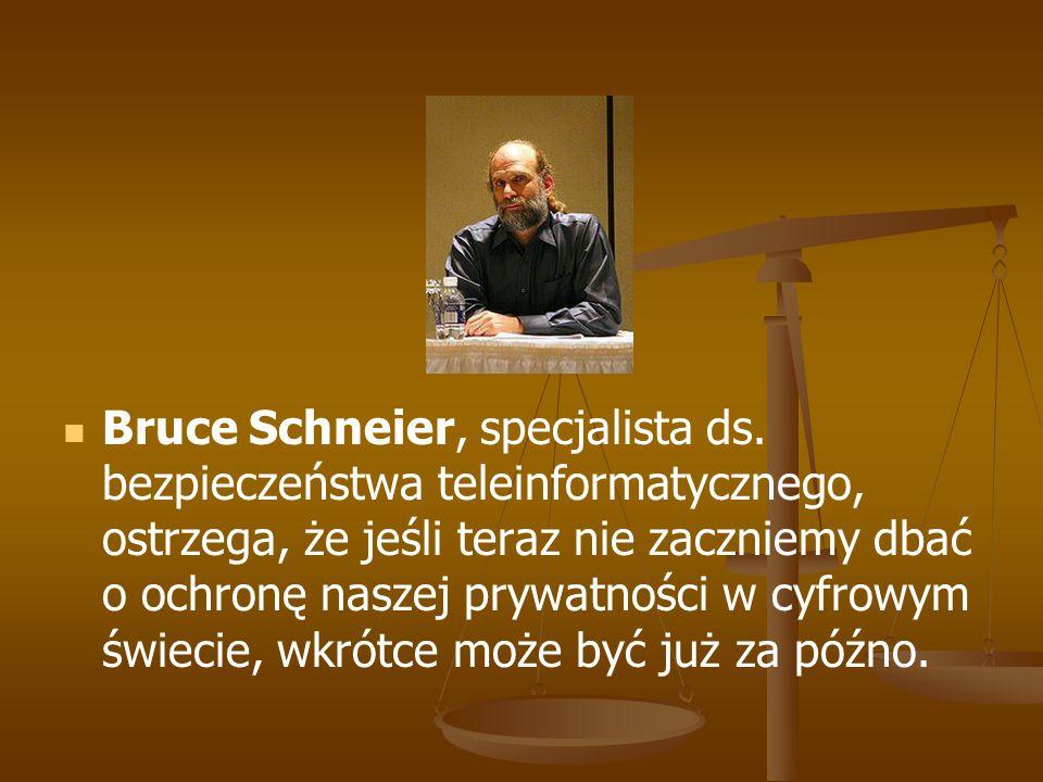 Bruce Schneier, specjalista ds