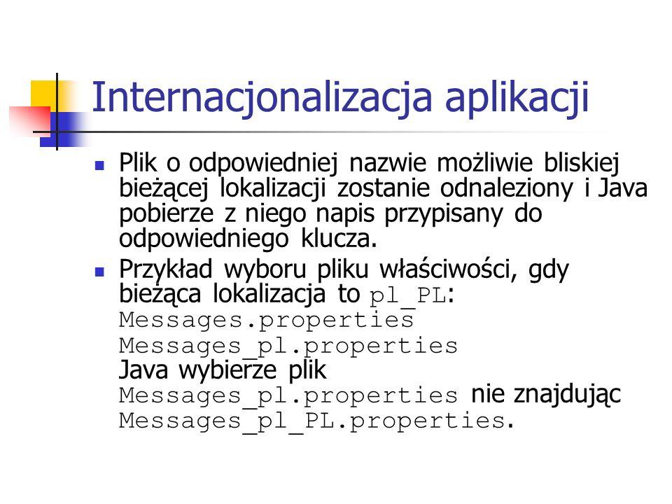 Internacjonalizacja aplikacji