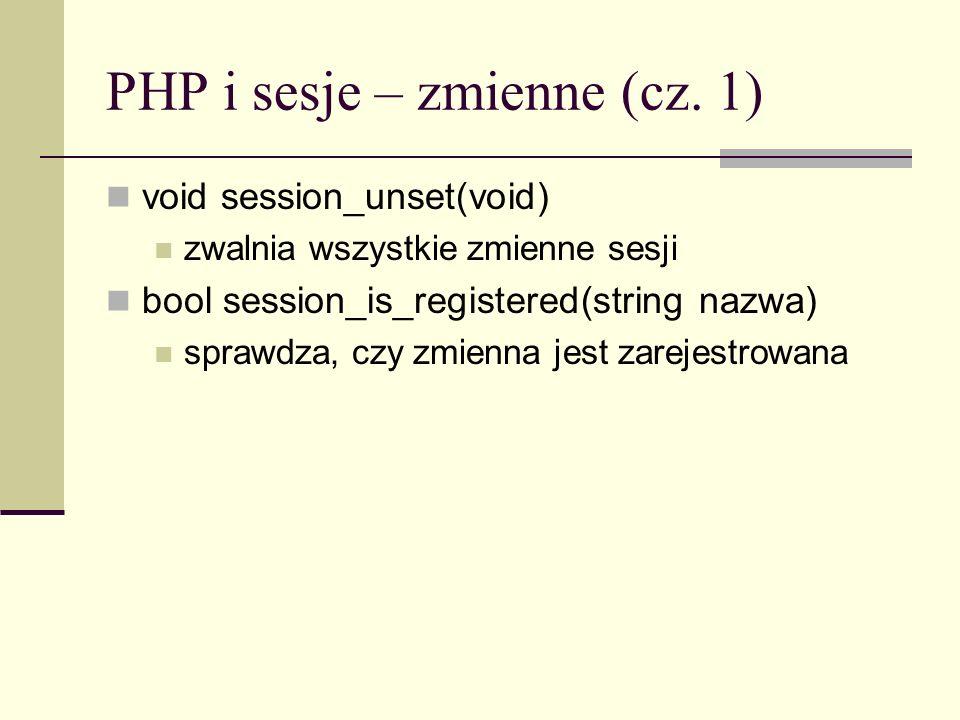 PHP i sesje – zmienne (cz. 1)