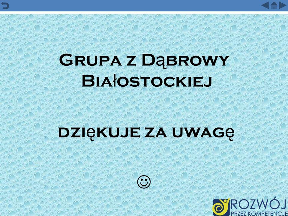 Grupa z Dąbrowy Białostockiej