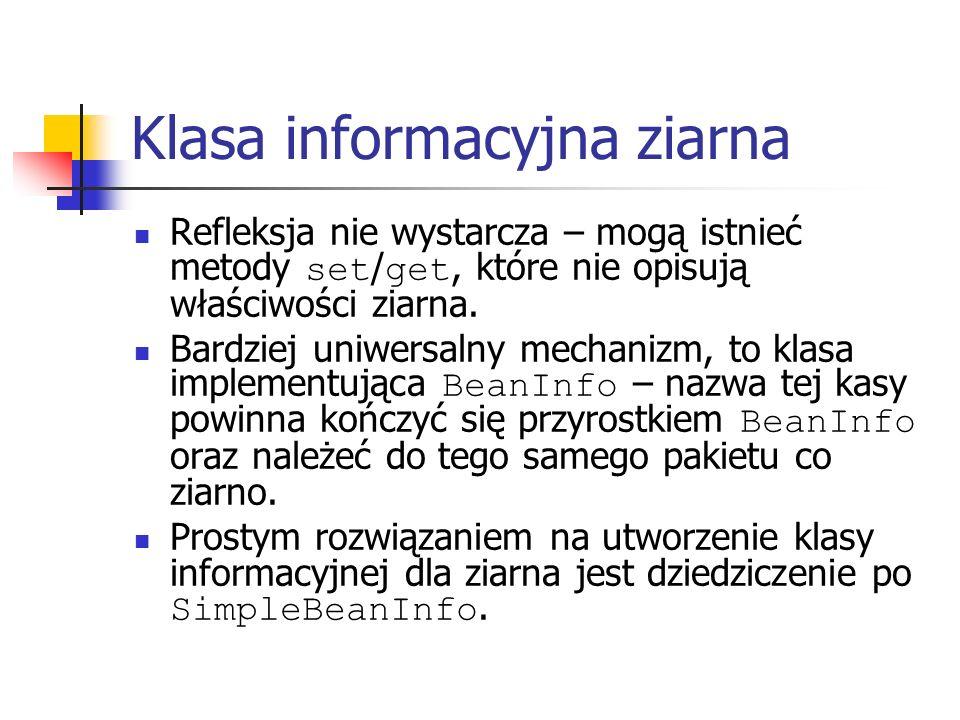 Klasa informacyjna ziarna