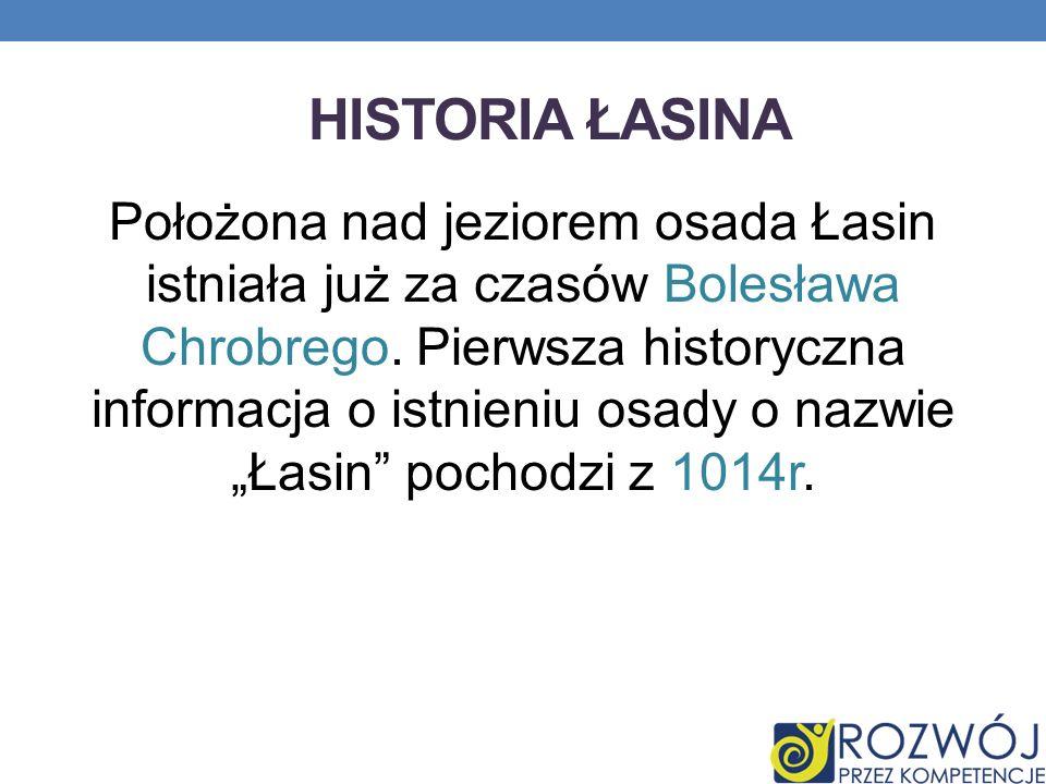 Historia Łasina