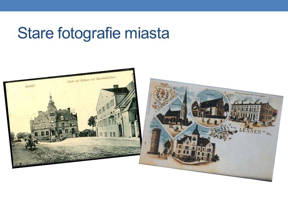 Stare fotografie miasta