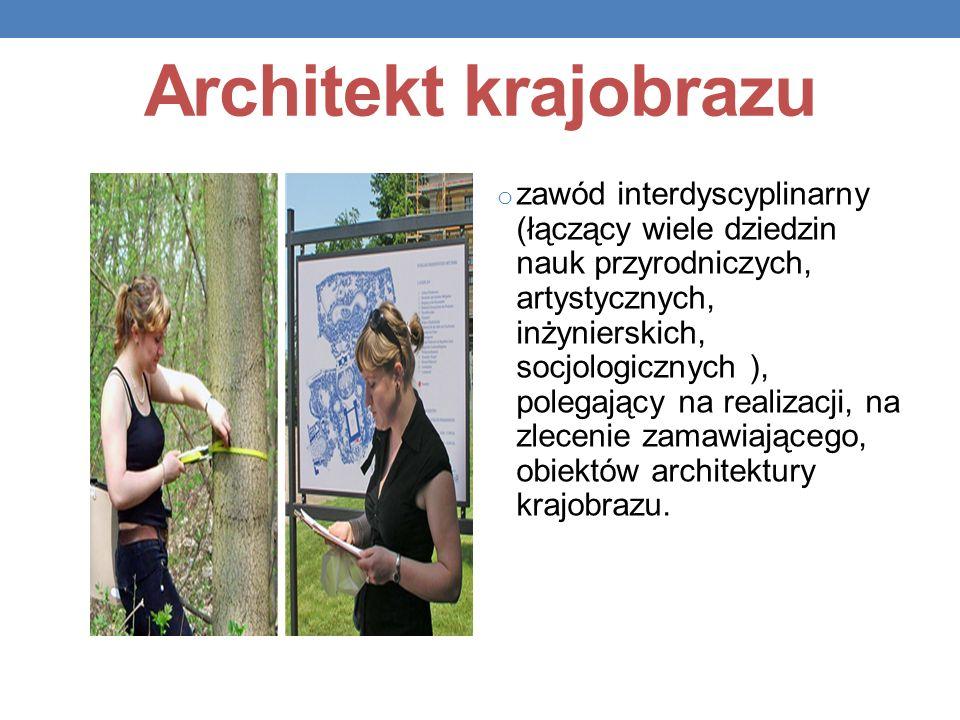Architekt krajobrazu