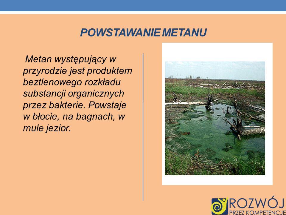Powstawanie metanu