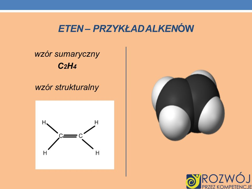 Eten – przykład alkenów