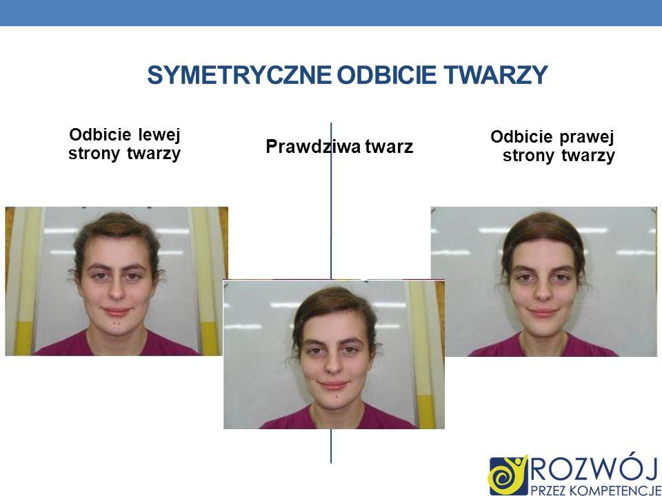Symetryczne odbicie twarzy