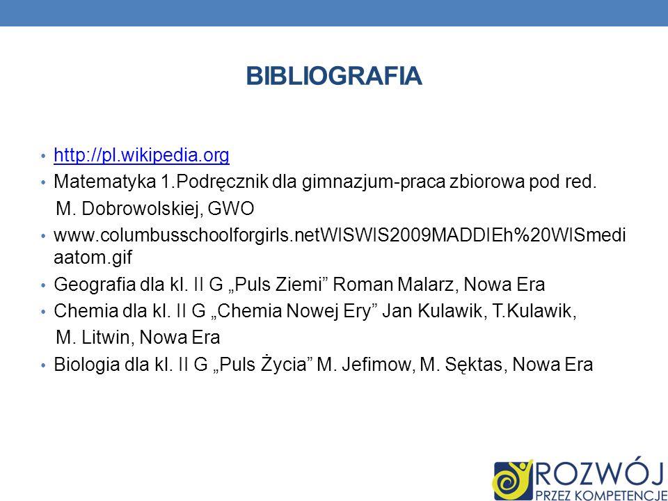 BIBLIOGRAFIA http://pl.wikipedia.org