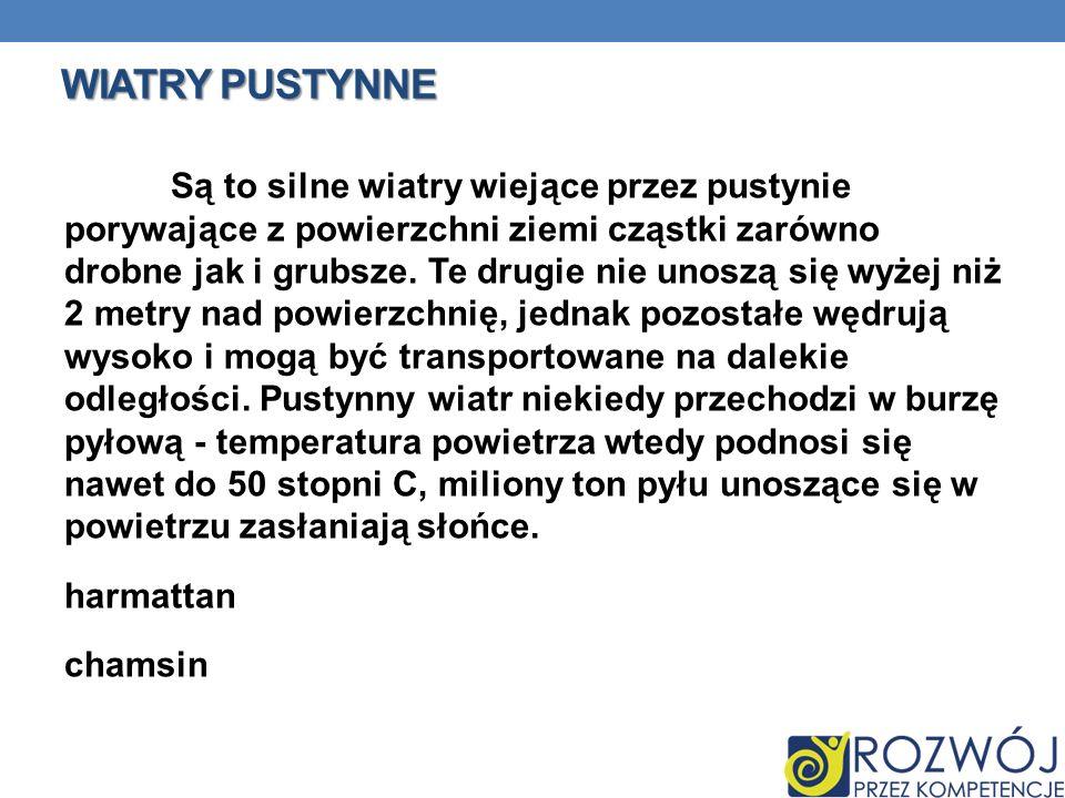 WIATRY PUSTYNNE