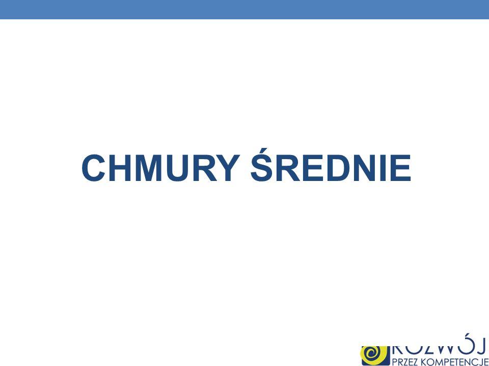 CHMURY ŚREDNIE