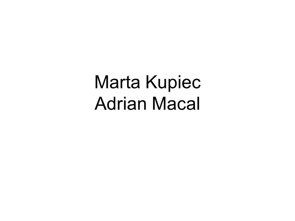 Marta Kupiec Adrian Macal