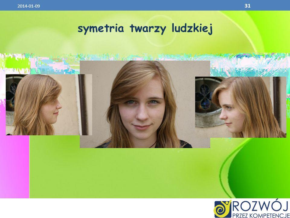 symetria twarzy ludzkiej