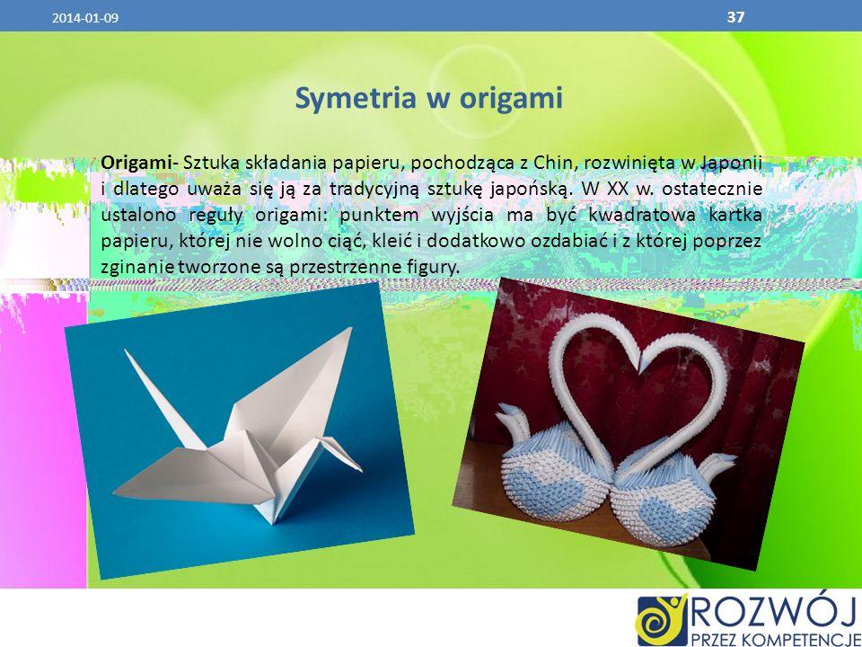 2017-03-26 Symetria w origami.