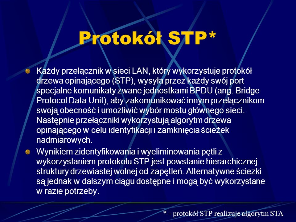 Protokół STP*