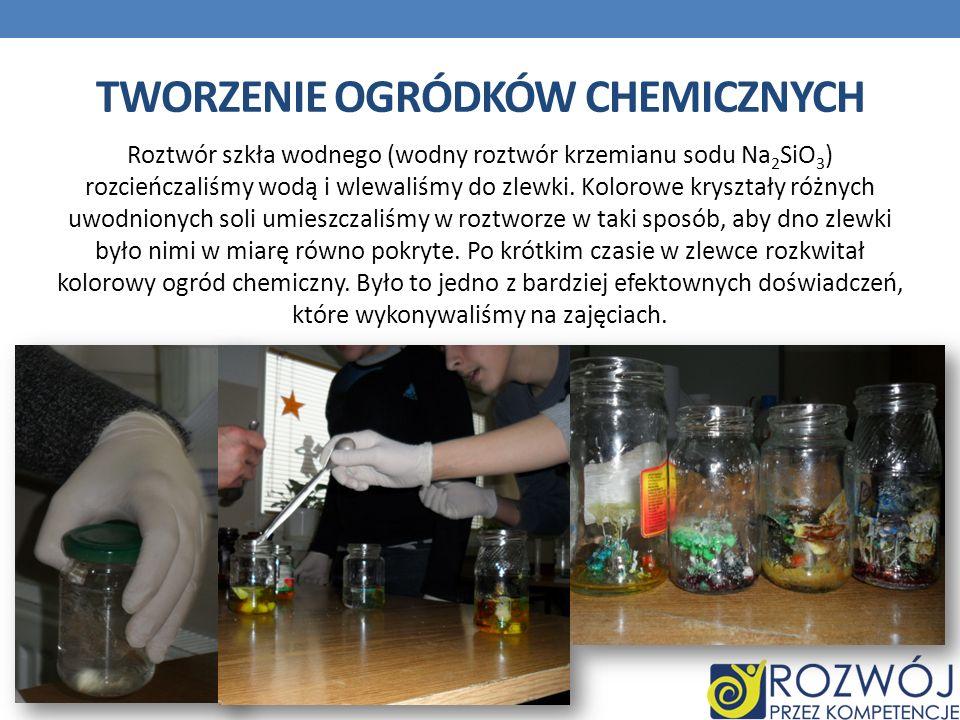 TWORZENIE OGRÓDKÓW CHEMICZNYCH