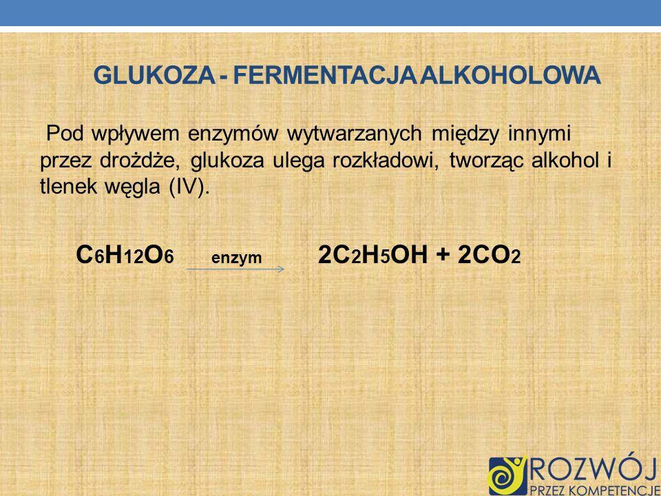Glukoza - Fermentacja alkoholowa