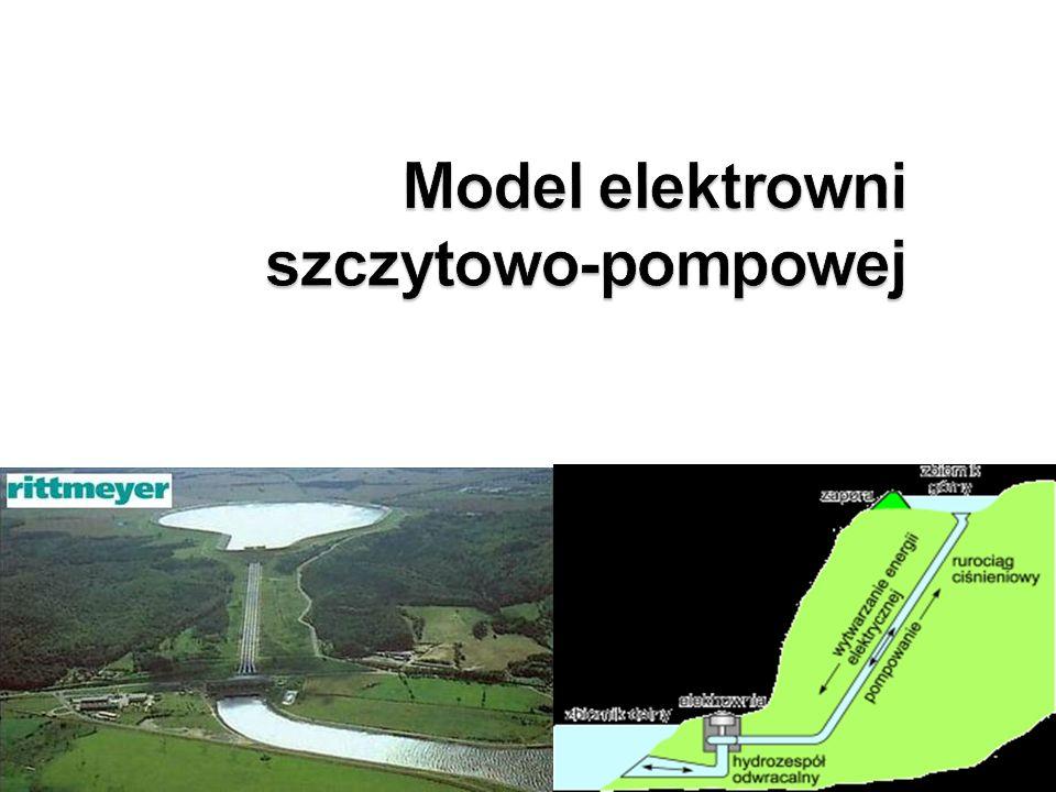 Model elektrowni szczytowo-pompowej