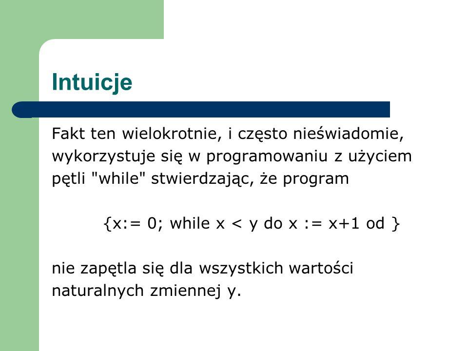{x:= 0; while x < y do x := x+1 od }
