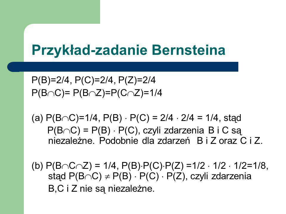 Przykład-zadanie Bernsteina