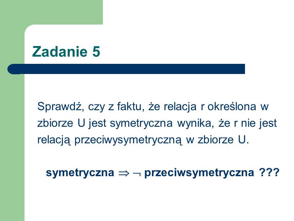 symetryczna   przeciwsymetryczna