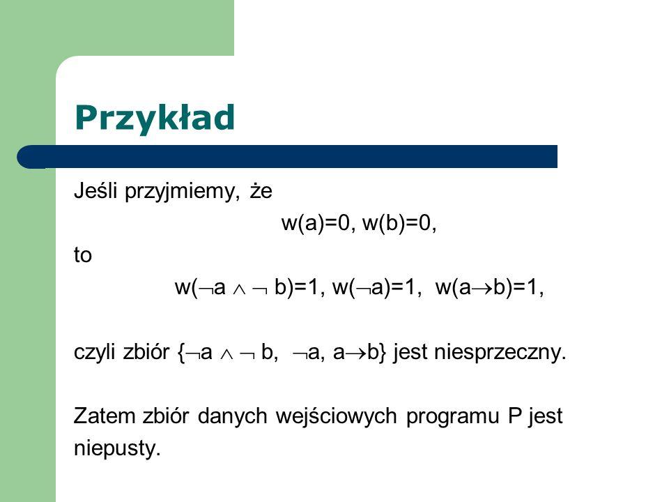 w(a   b)=1, w(a)=1, w(ab)=1,