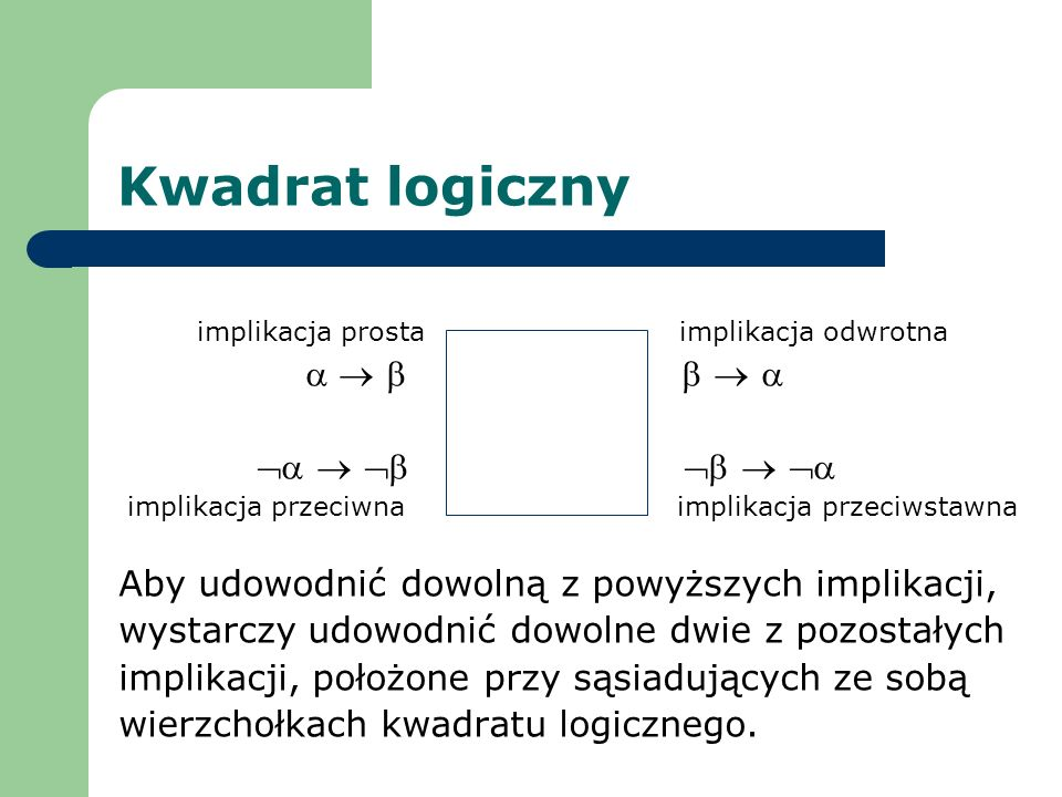 Kwadrat logiczny      