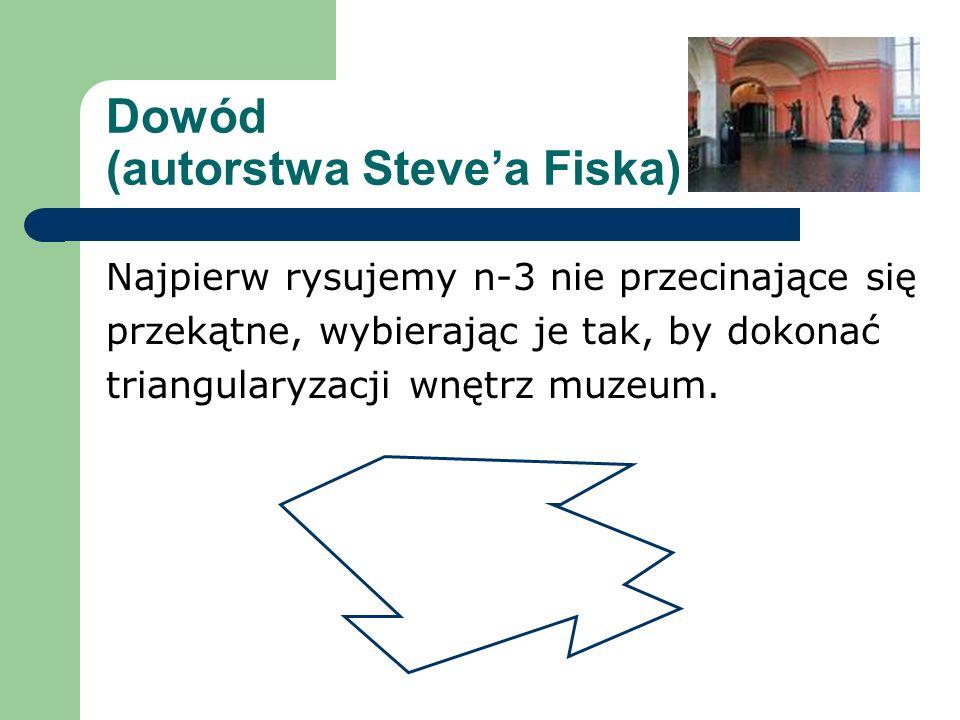 Dowód (autorstwa Steve'a Fiska)