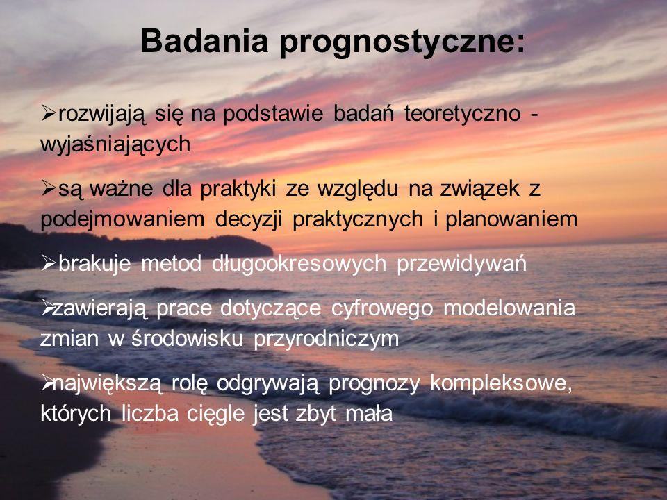 Badania prognostyczne:
