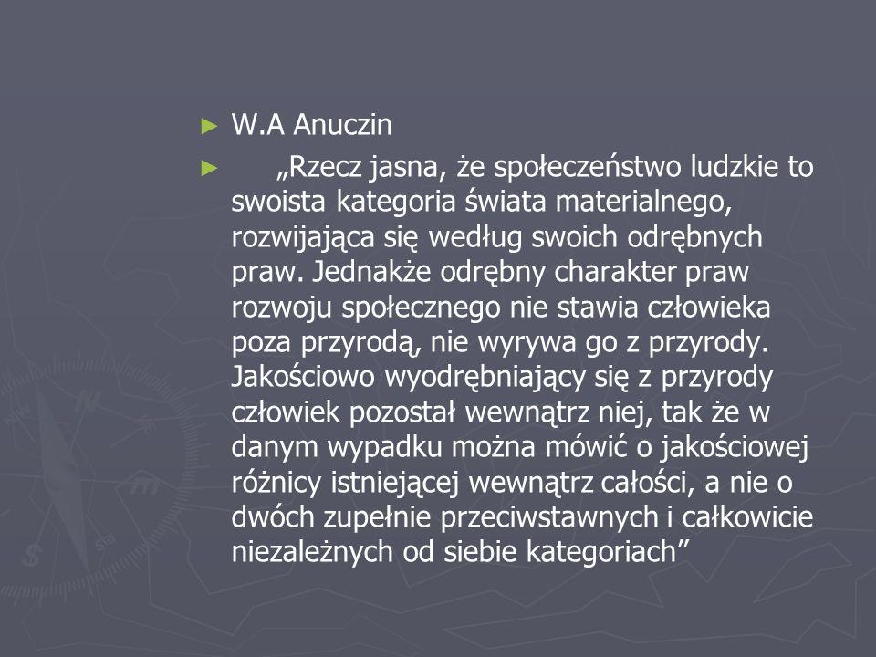 W.A Anuczin