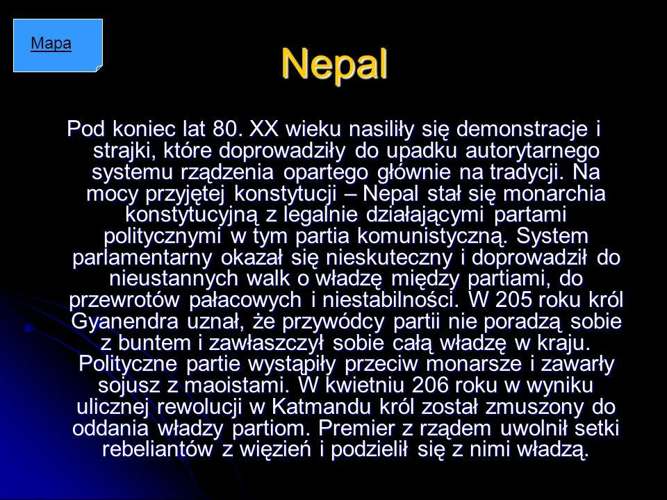 Nepal Mapa.
