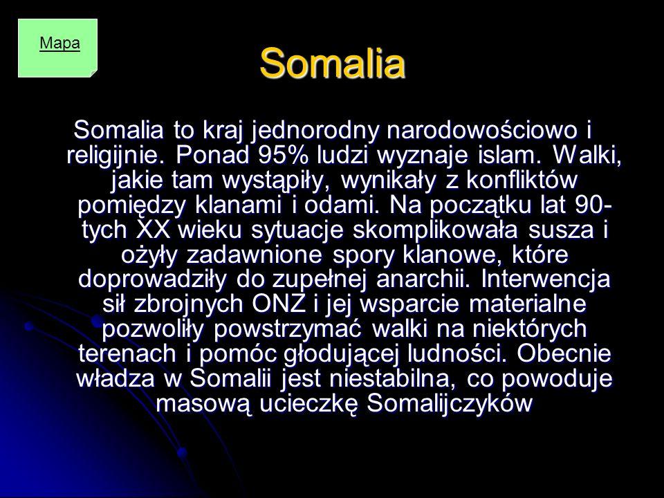 Somalia Mapa.