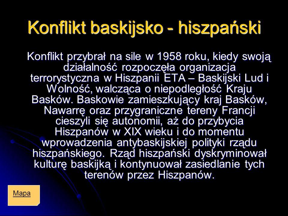 Konflikt baskijsko - hiszpański
