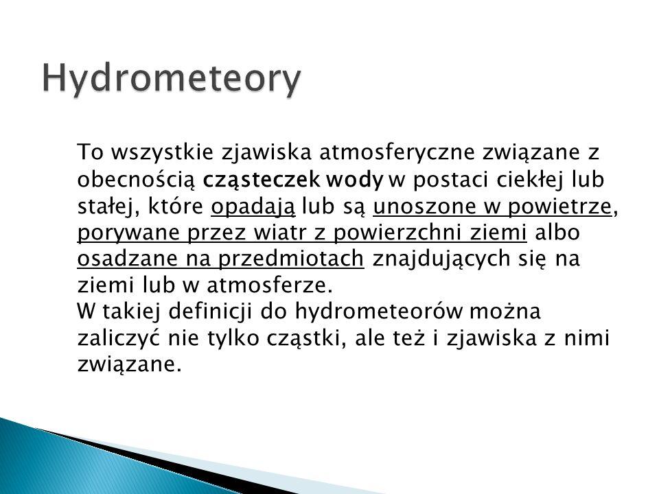 Hydrometeory