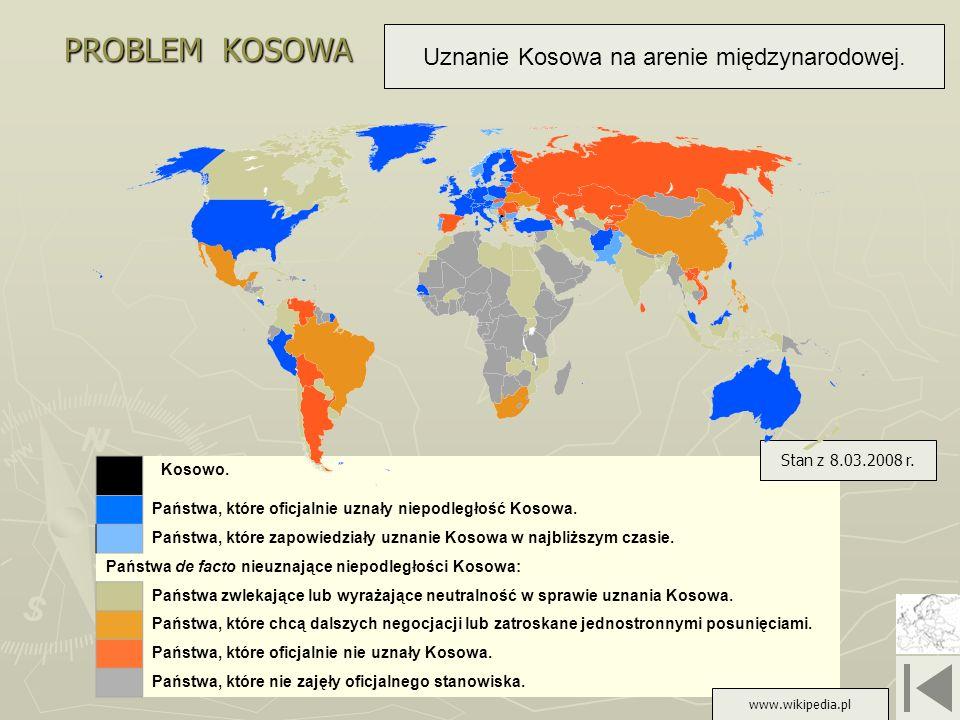 Uznanie Kosowa na arenie międzynarodowej.
