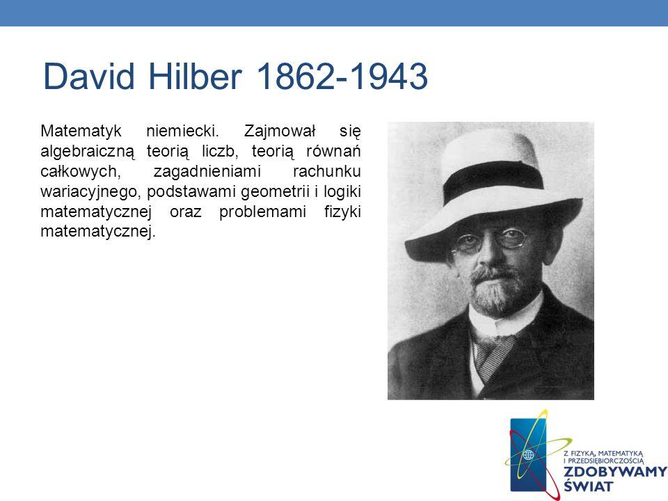 David Hilber 1862-1943