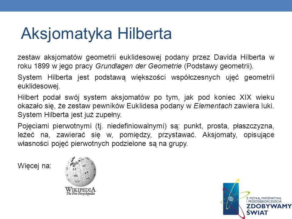 Aksjomatyka Hilberta