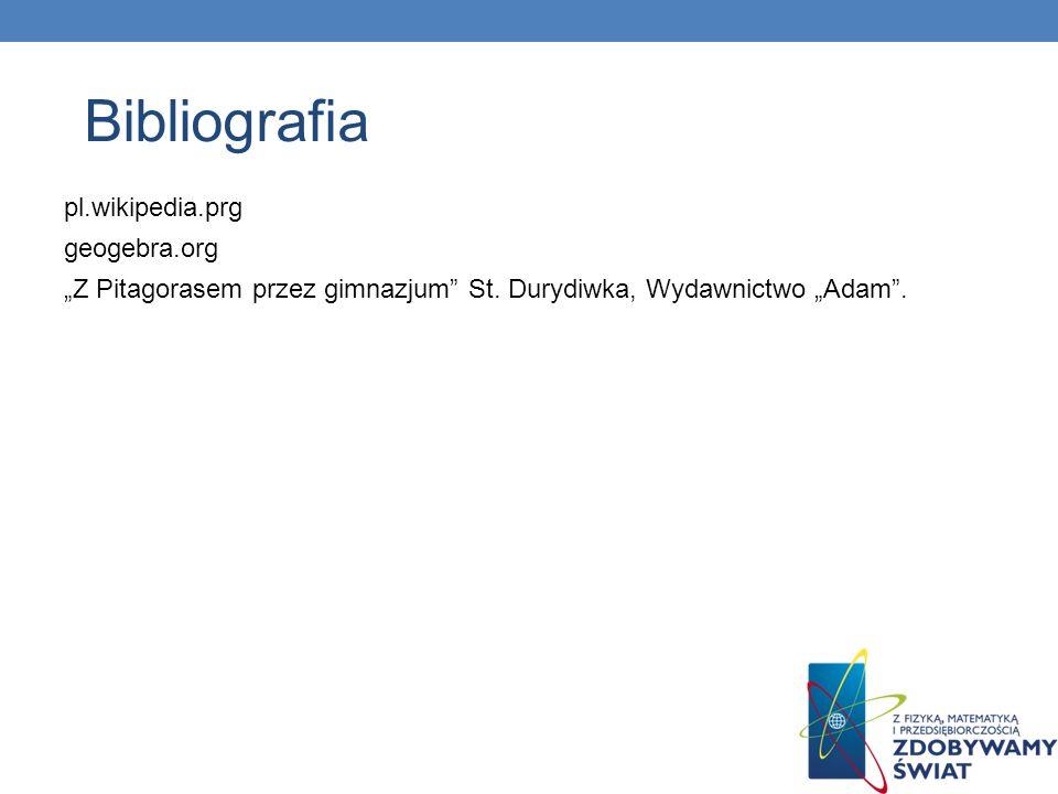 Bibliografia pl.wikipedia.prg geogebra.org