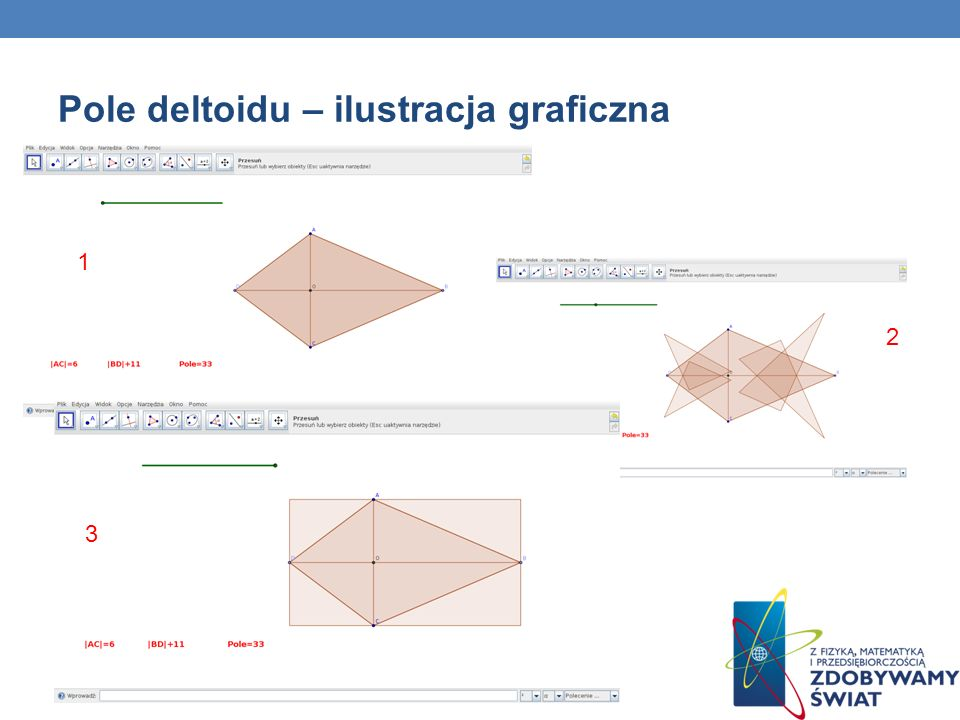 Pole deltoidu – ilustracja graficzna